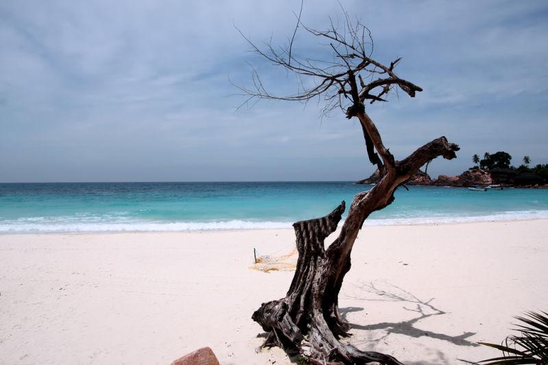 Beach shot of Redang...
