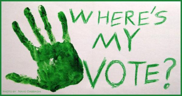 Where's My VOTE??