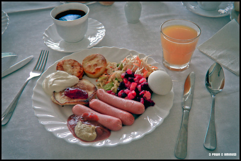 Moscovian starter at breakfast
