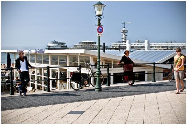 Scheveningen boulevard pier