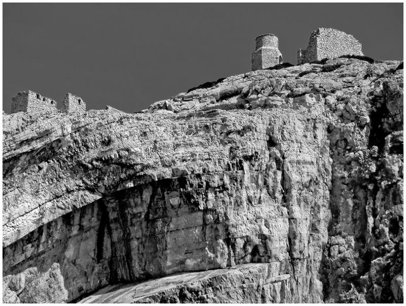 Isle at the Kornati coastal region