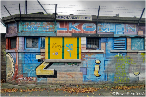 The former merchandise shop of ADO Den Haag