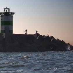 Jetty at Scheveningen harbour