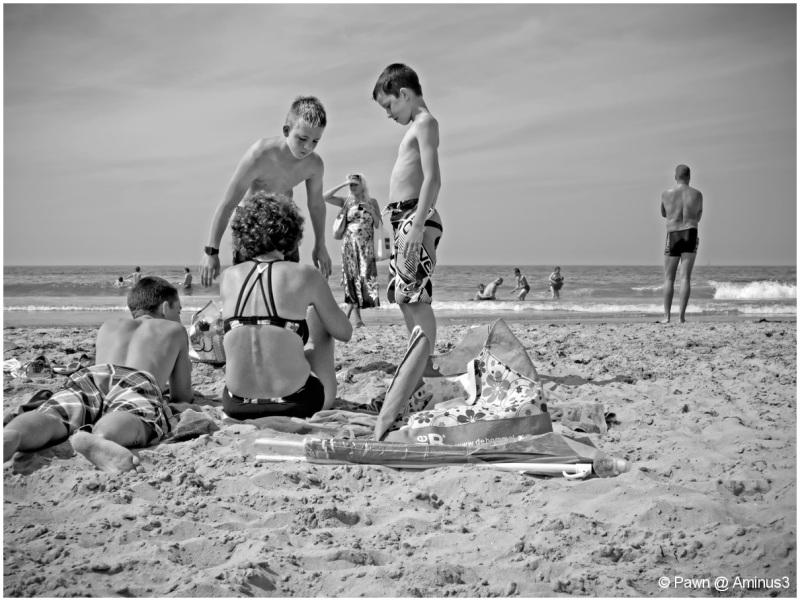At the beach 1
