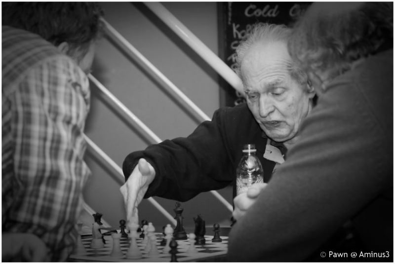 Analysis after chess game