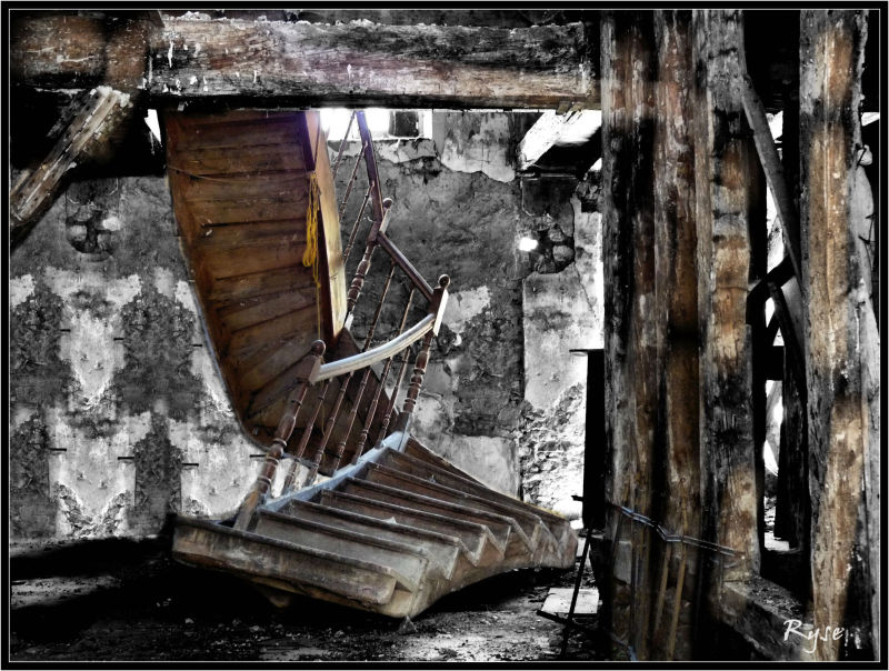 Panne d'escalier