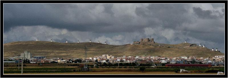 Sur la route de Don Quichotte de la Mancha