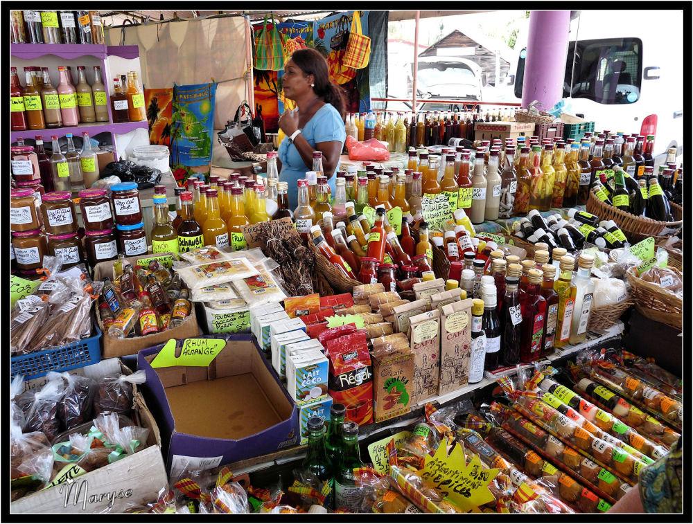 Le marché de Sainte-Anne