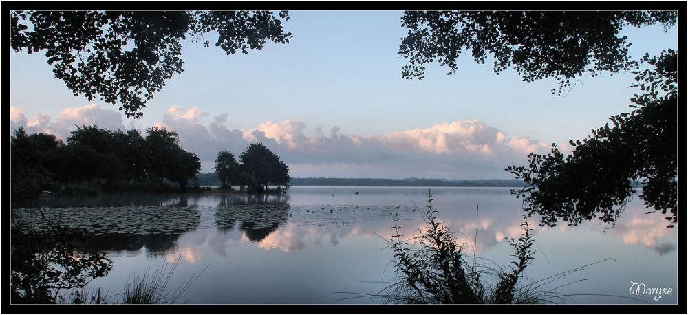 Le lac d'Azur