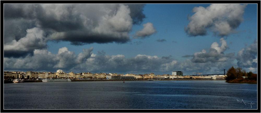 Vue sur Bordeaux-Rive gauche