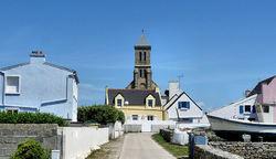 Monument saint à l'île de Sein