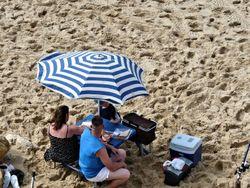 Casse-croûte sur la plage