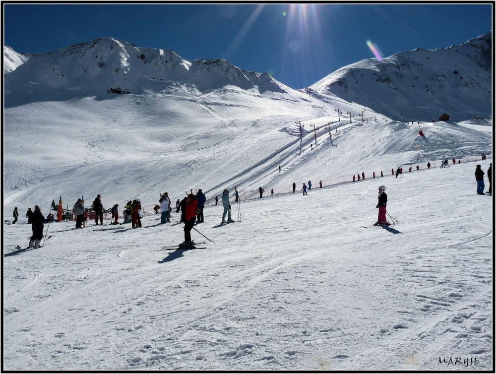 Quelle belle journée pour skier !