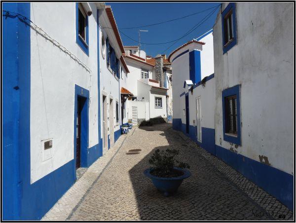 En bleu et blanc