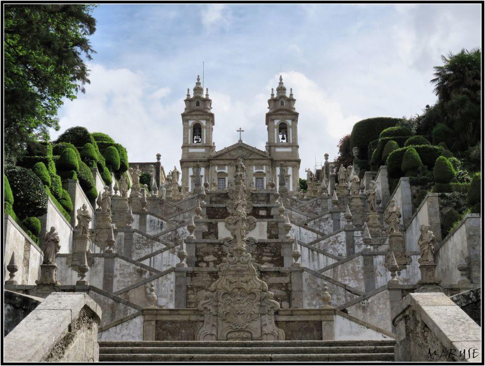 Le sanctuaire aux escaliers