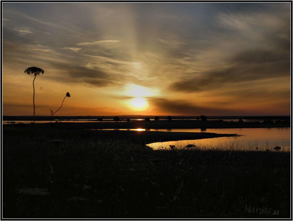 C'est à la lumière du lever du soleil...