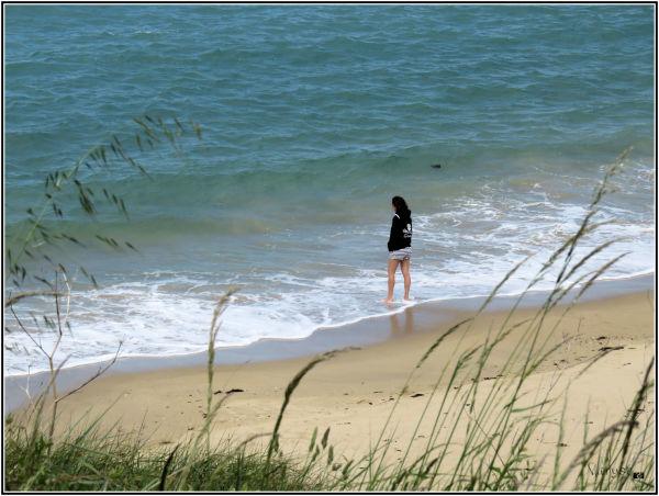 La jeune fille et la mer !