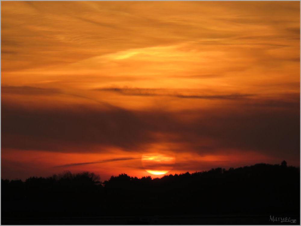 Coucher de soleil à Régneville - Manche  - 2/3
