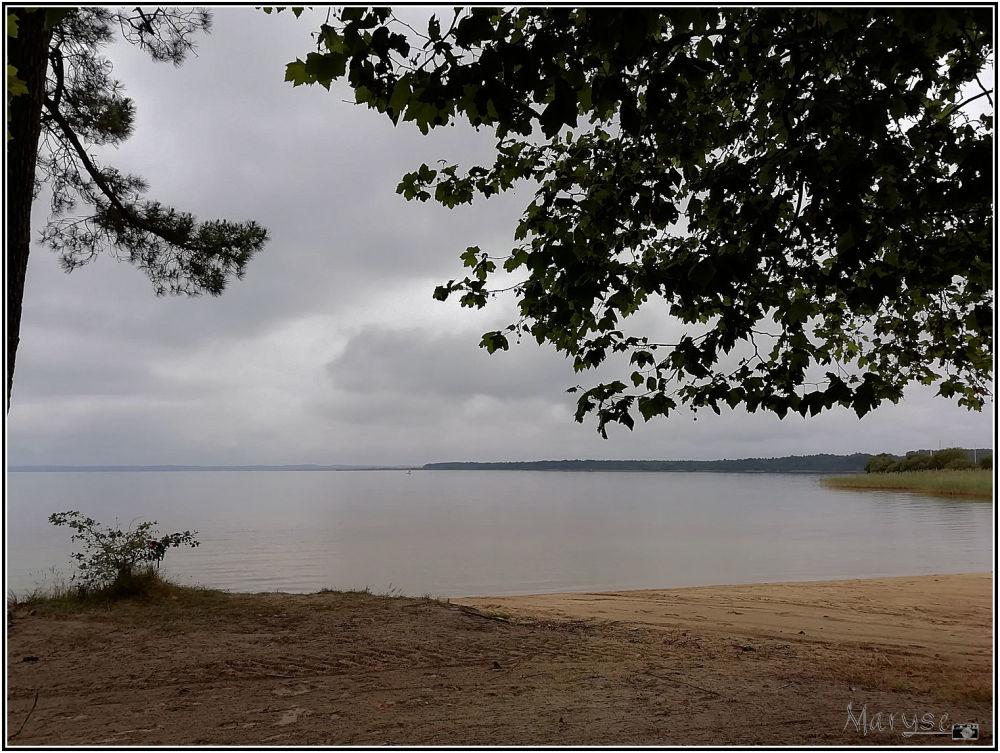 Le lac de Sanguinet - Landes