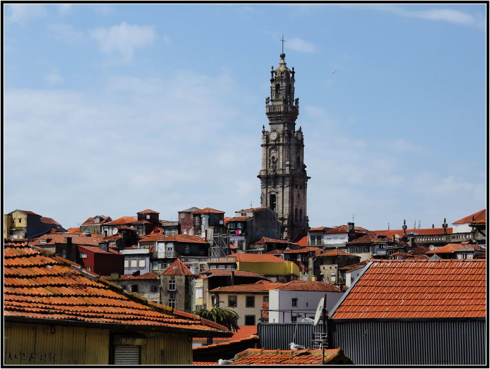 Les toits de Porto