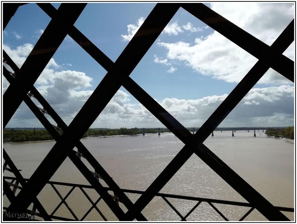 Vue du Pont routier Eiffel
