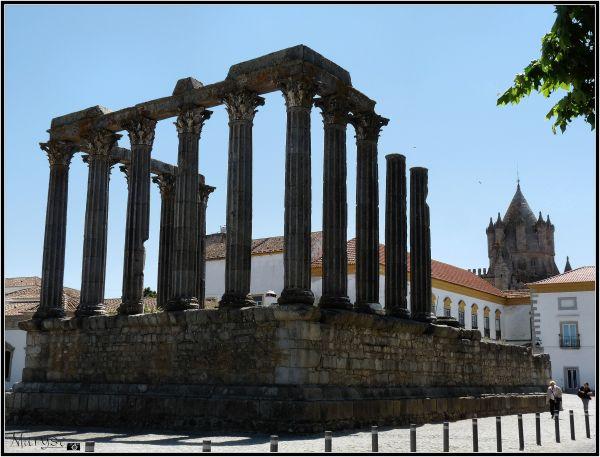 Le temple de Diana