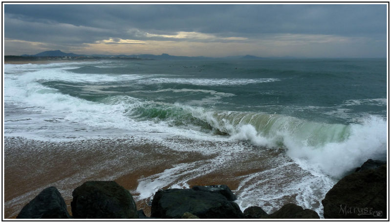 Les vagues sont peu de choses au regard de l'océan