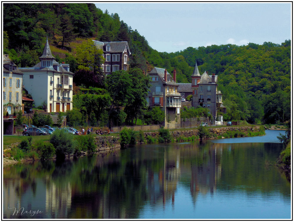 Sur la rive du Lot - Estaing 2/3