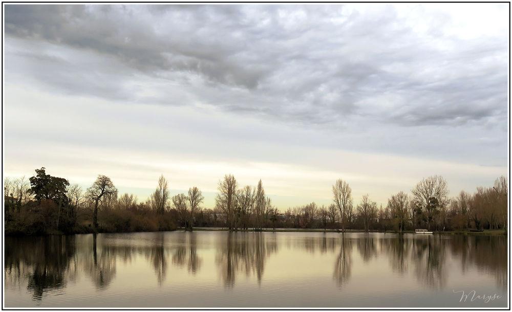 L'étang de Coutant la Roubine