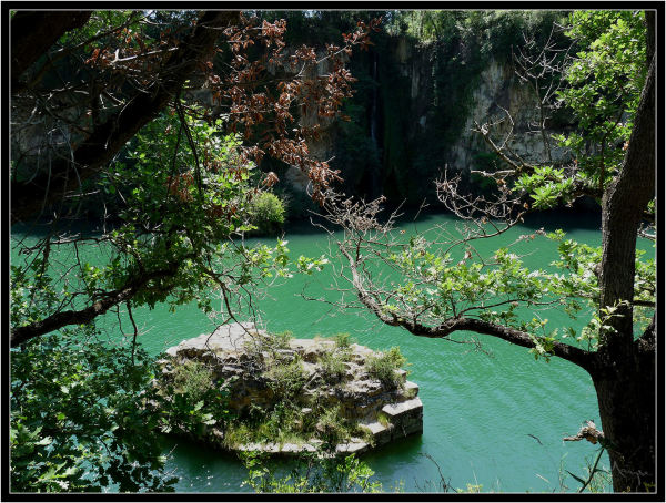 La cascade de Lévéjac