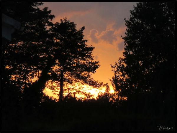 Un coucher de soleil comme tant d'autres