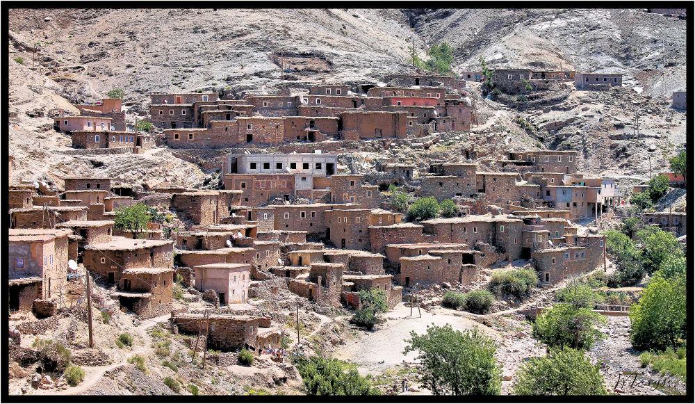 Sur la route de Ouarzazat