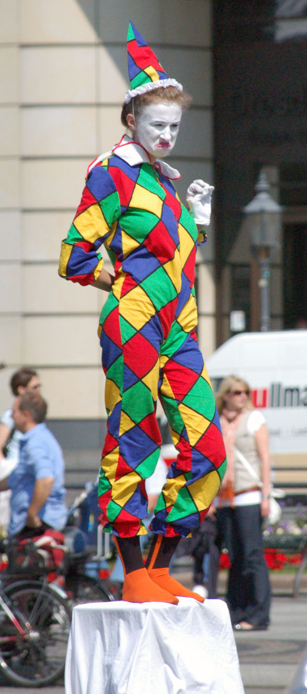 Colorful Clown...