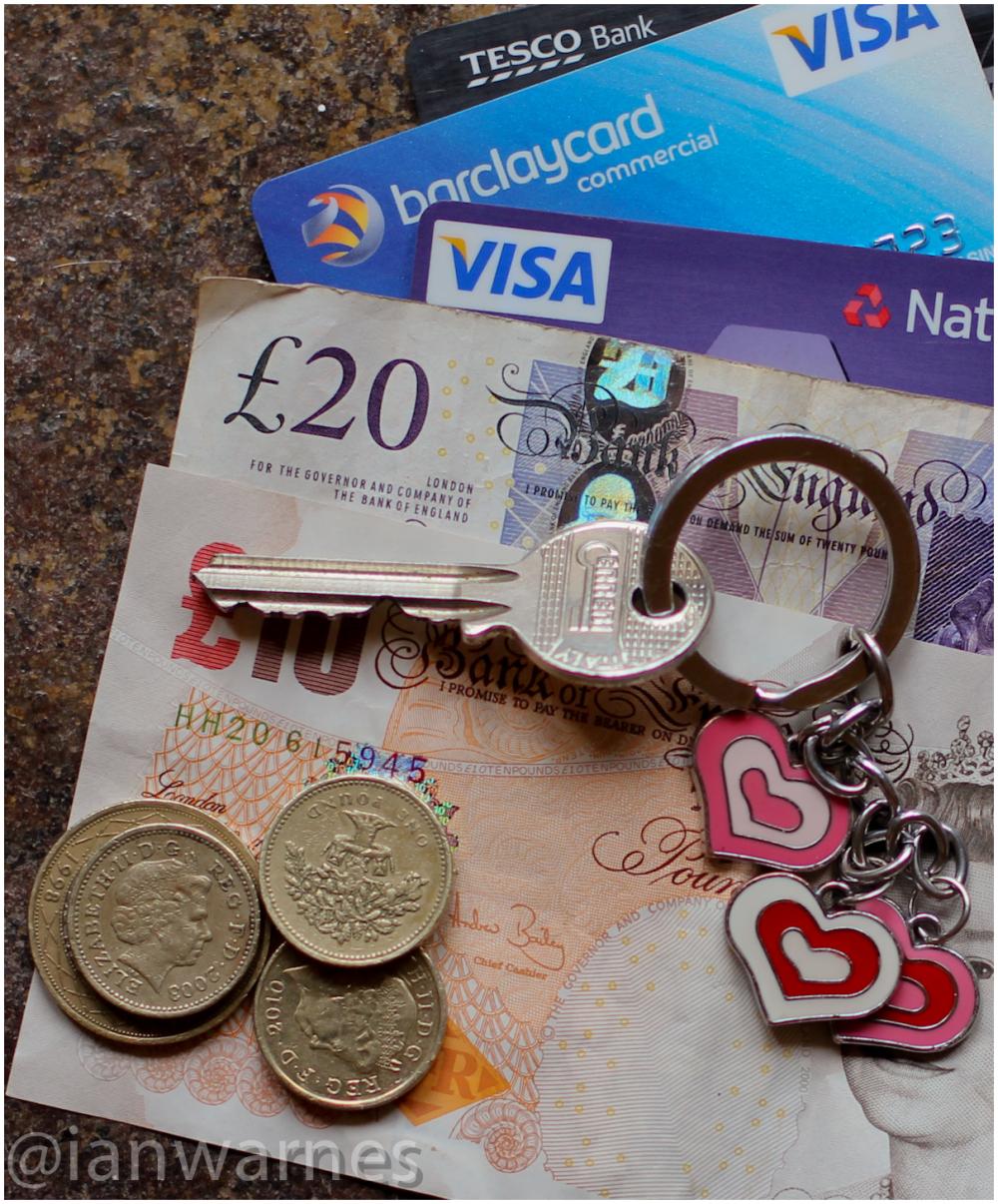 Cash and Keys