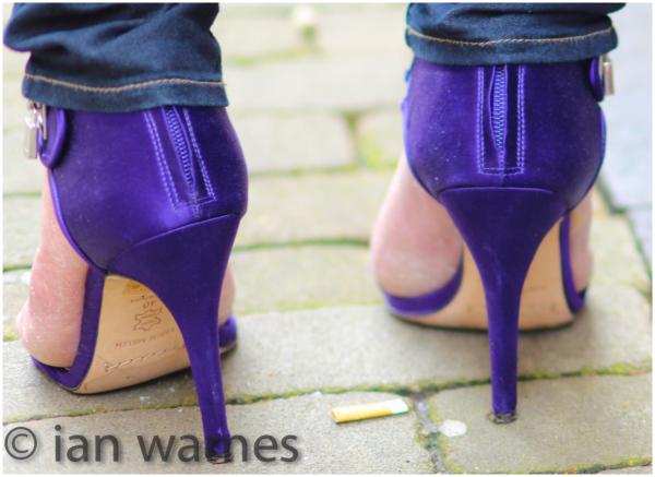 Purple heels