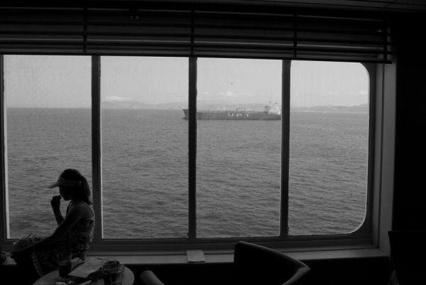 vistas al mar...