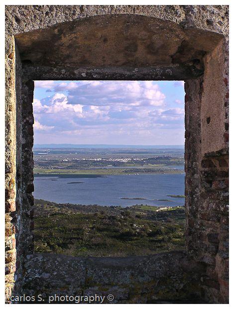 O Alqueva pela janela