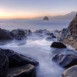 Sunset - Marshall's Beach - San Francisco