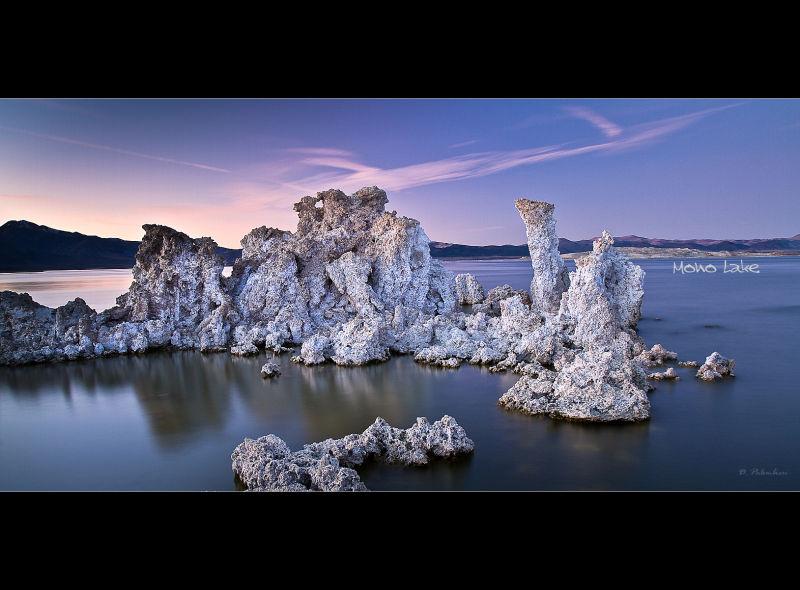 Mono Lake Sunset - California