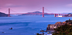 Sunset - Golden Gate - San Francisco