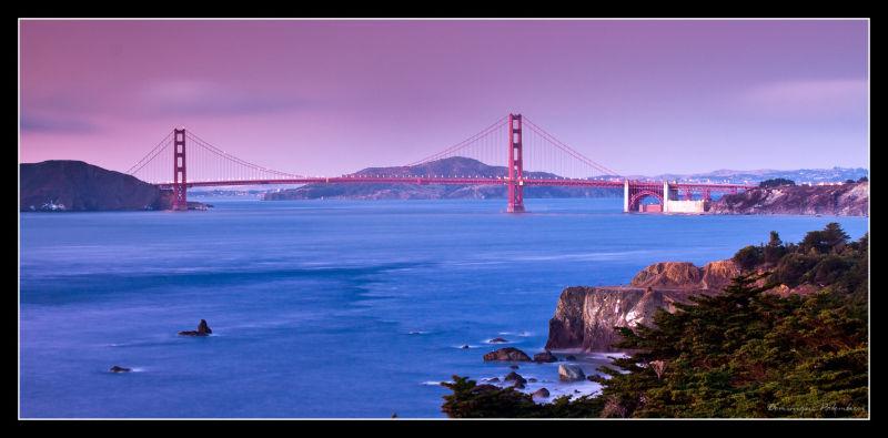 Sunset - Golden Gate - San Francisco