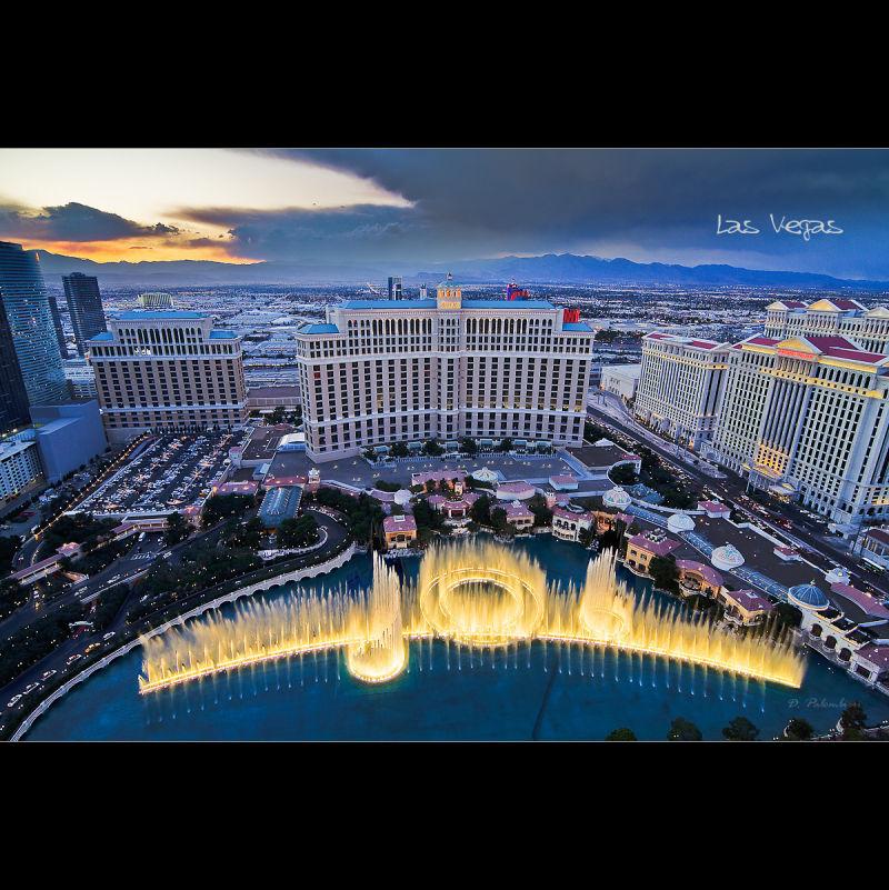 Bellagio Fountains - Las Vegas - Nevada