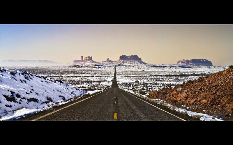 Monument Valley - US 163 Mile 13 - Arizona