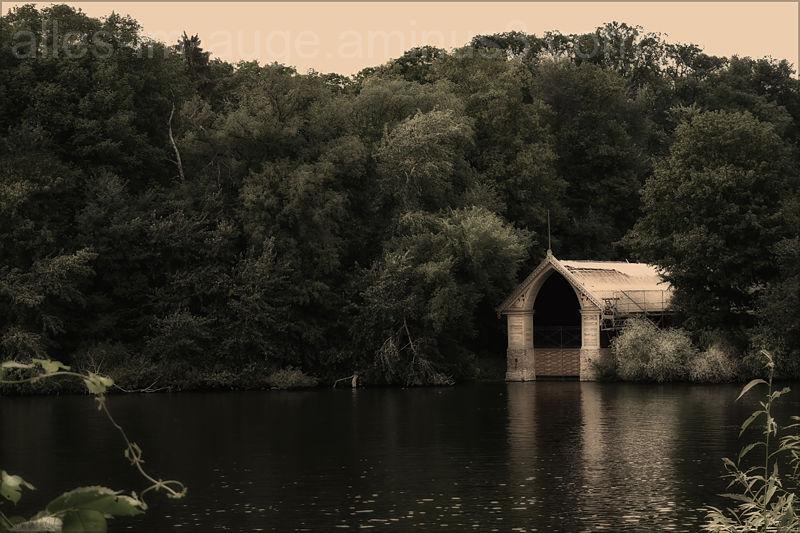 old boatshouse
