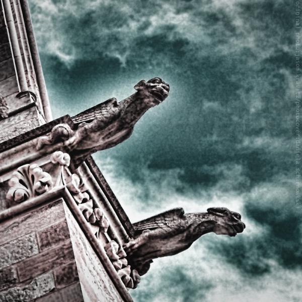 Bayeux Cathedral Gargoyles - Jason Kravitz