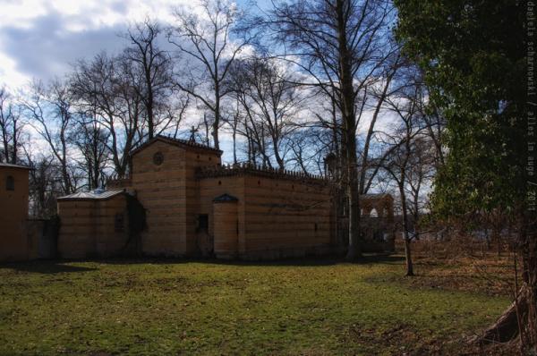 the glienicke monastery, and again