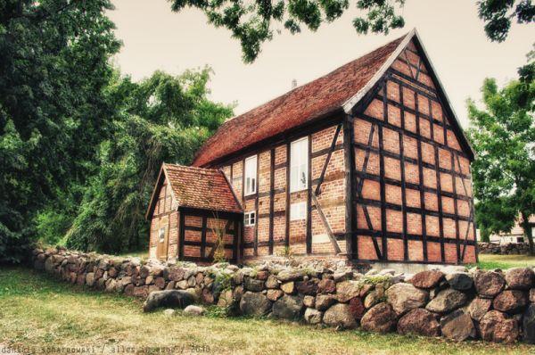 Carwitz village church