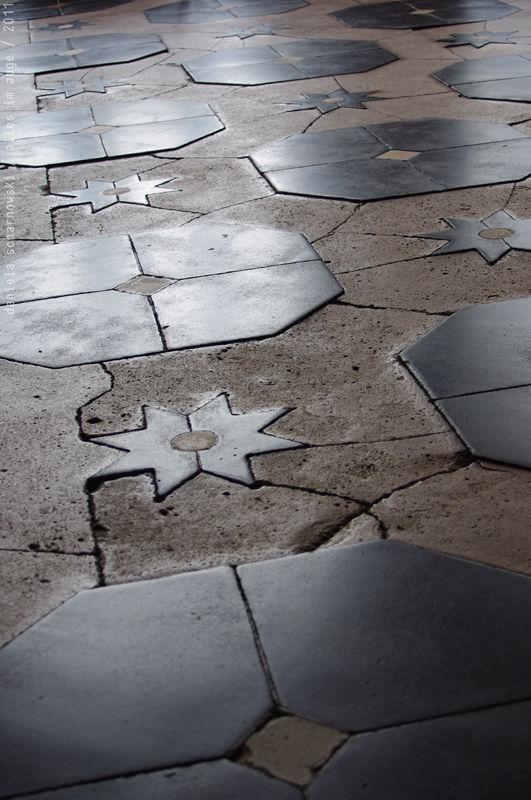 old floor tiles