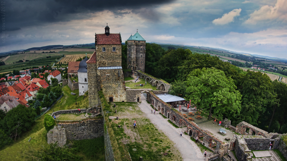Stolpen Castle pano