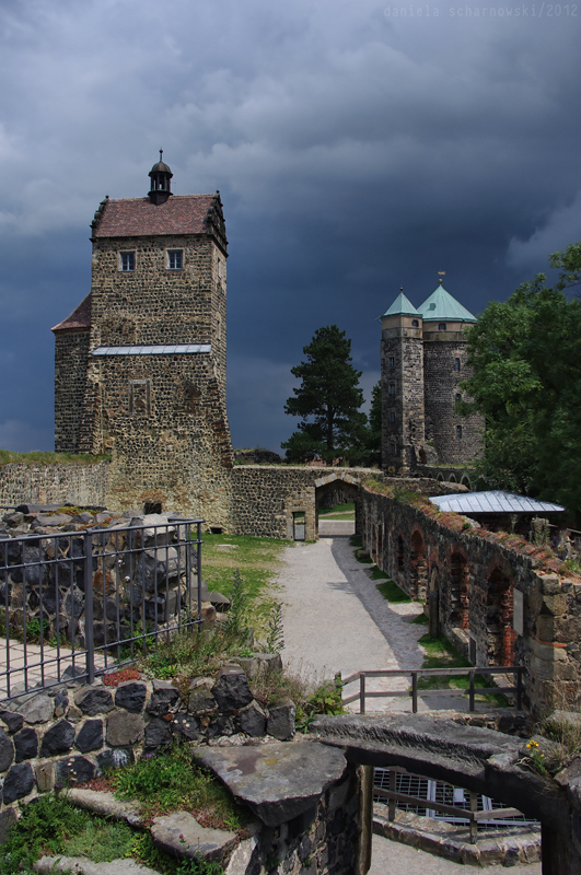 Stolpen Castle: Tower View